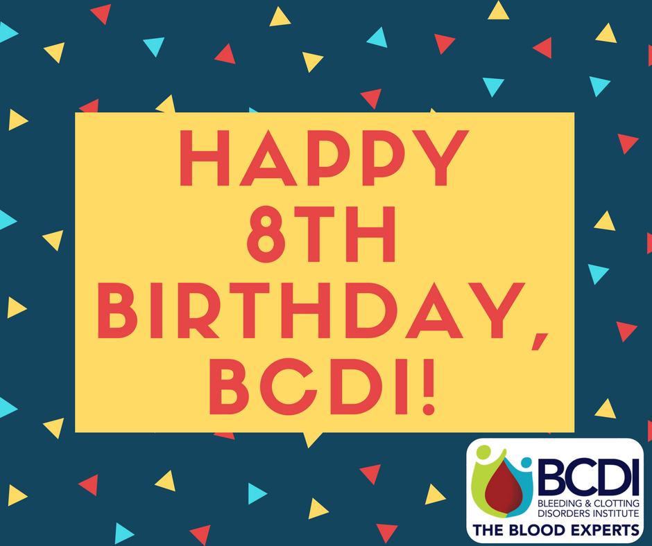 BCDI Celebrates 8th Birthday