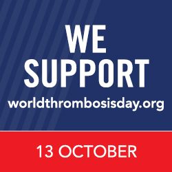 World Thrombosis Day is October 13th!