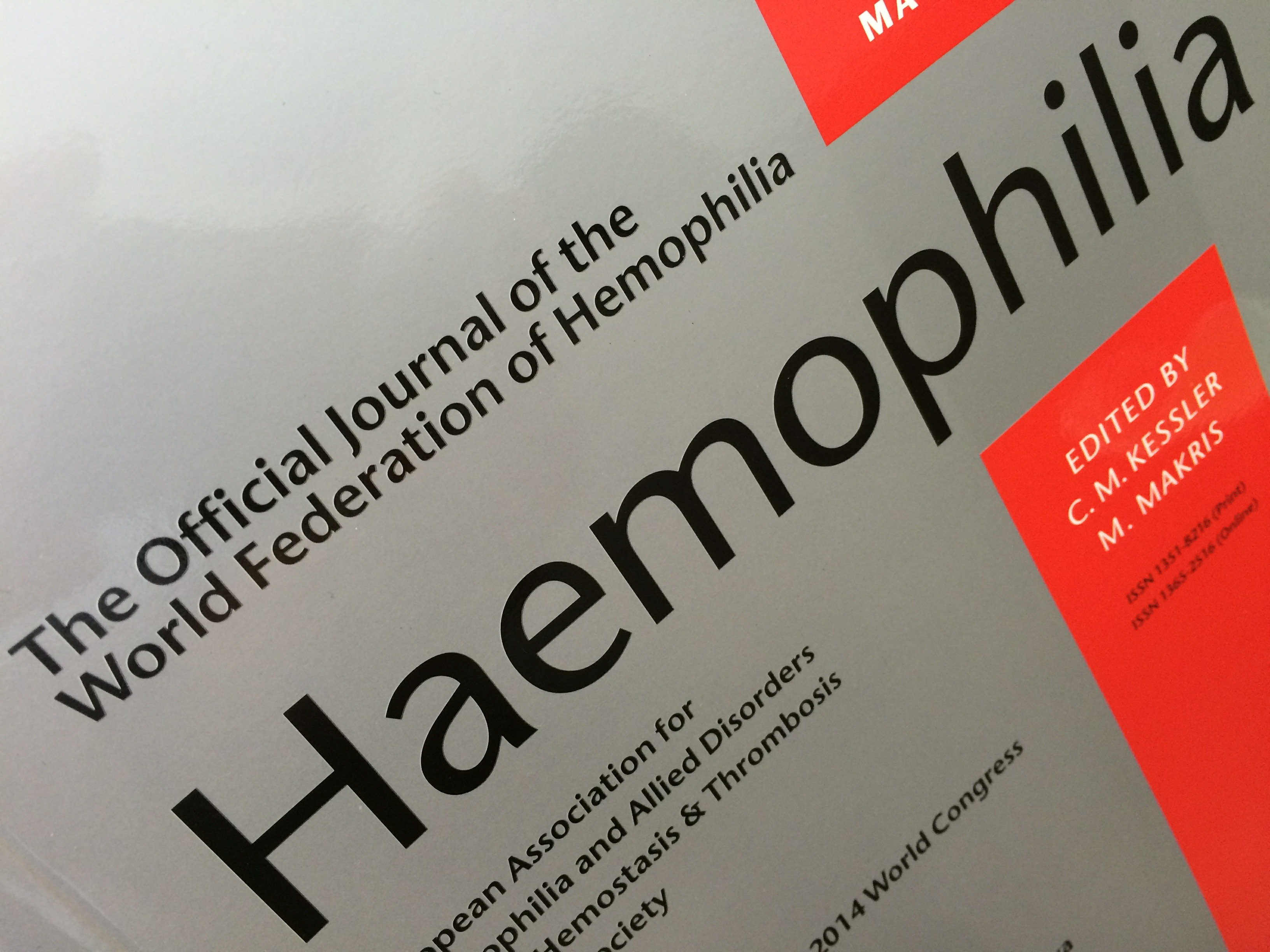 Dr. Roberts has article published in the official journal of the World Federation of Hemophilia!